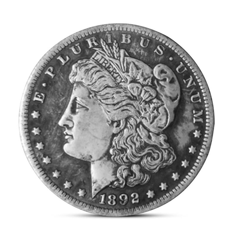 Cheap valuable silver antique old coins souvenir ancient dollar gold coin price for sale