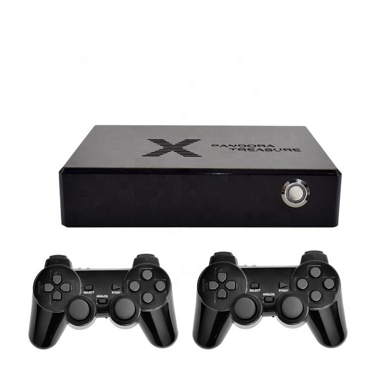 Pandora's box 32-bit retro classic X video game console with two game controllers for family