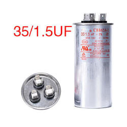 35+1.5UF 450V  CBB65 4+4+4pins air-conditioner AC dual capacitor