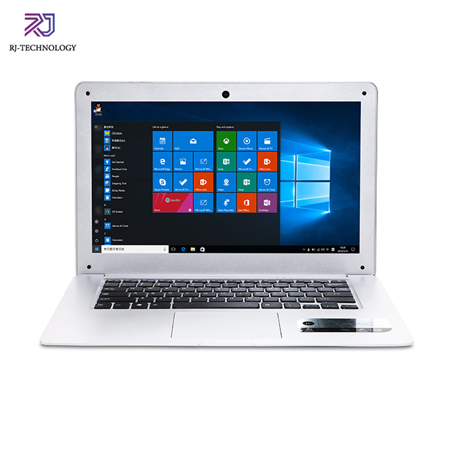 14.1 ''Slim Laptop <span class=keywords><strong>Netbook</strong></span> Prosesor Intel Celeron N3350 2.4Ghz 4GB RAM 64GB EMMC + 500GB HDD Ultrabook