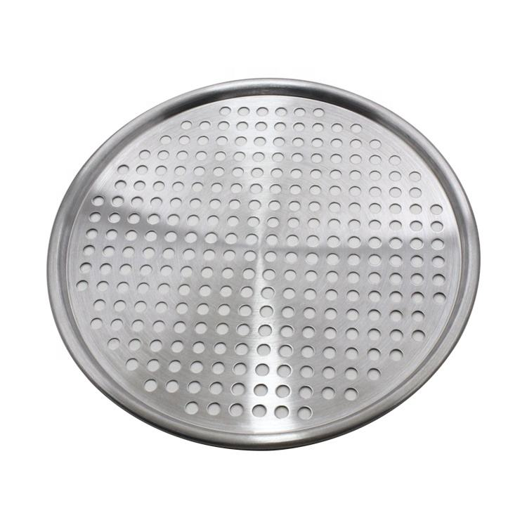 Stainless Steel Grill Pan BBQ Topper in Round Shape