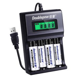 Doublepow UK95 fast charging NiMH NiCD aaa rechargeable battery nimh aa batteries charger