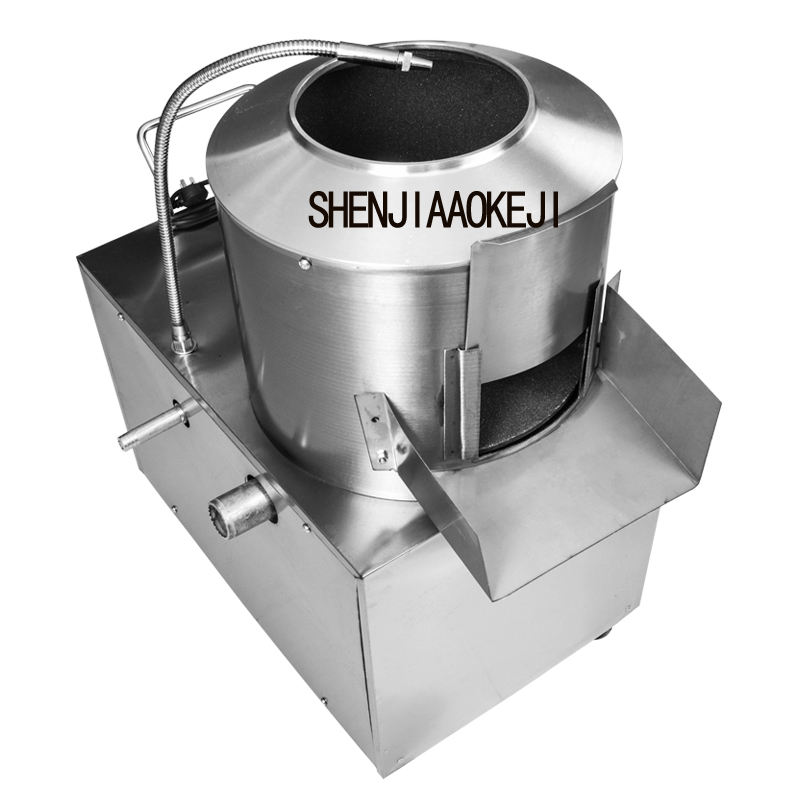 Potato peeler Commercial stainless steel automatic Potato peeling machine Cleaning machine 220V 1.5kw
