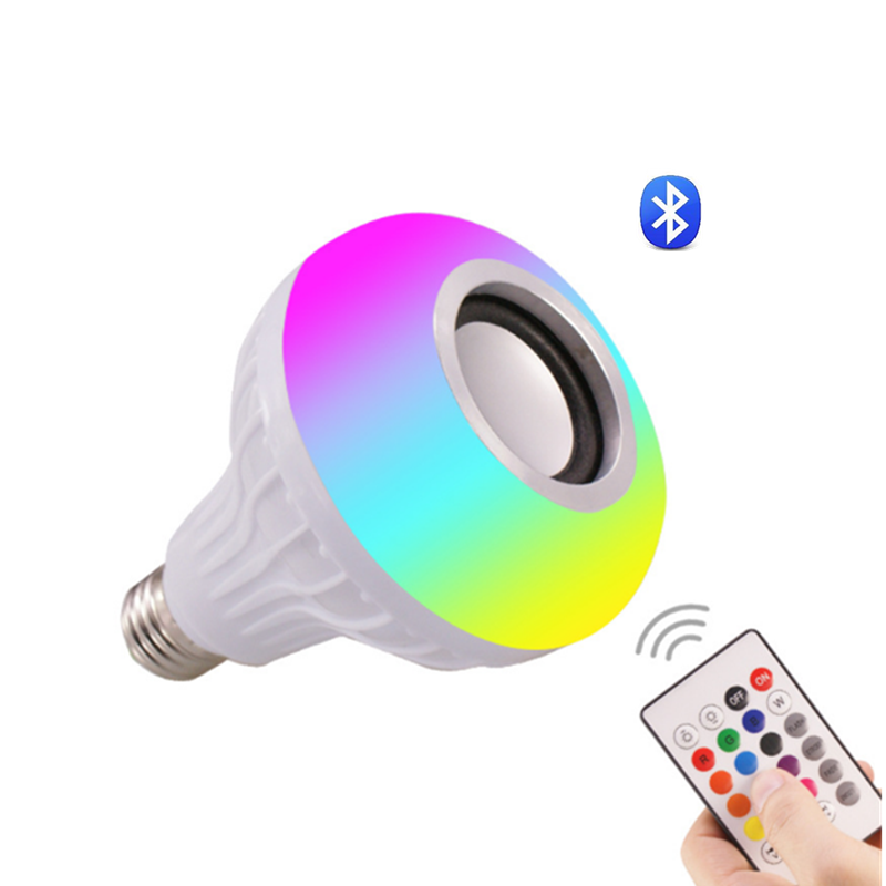 JK103 New LED Bulbs Speakers 7W RGB Smart Colorful LED Bluetooth Speaker light Smart led bulb with bluetooth