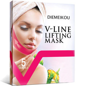 OEM V Line Lifting Mask Chin Up Patch Double Chin Reducer Chin Mask - Line Lifting Patches V Shaped Slimming Face Mask 5 Pcs