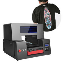 33cm*60cm Printing Area, High Efficiency Industrial A3+ T shirt UV Dtg Printer For Cotton Textiles