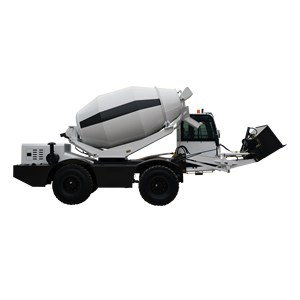 3 CBM Mobile Self-Loading Truk Mixer Beton 3000 Liter H3000