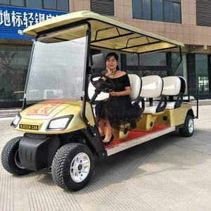 Factory Direct Selling CE Approved New Energy Eco-friendly 8 Passenger Electric Golf Cart