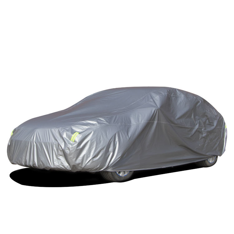 CN wholesale color reflective stripe car cover more light car cover canvas cover