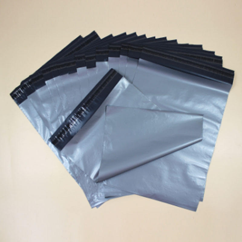 Tear Strip Adhesive Custom Logo Printed Package Shipping Envelope Plastic Dhl Mail Bags 28x42cm