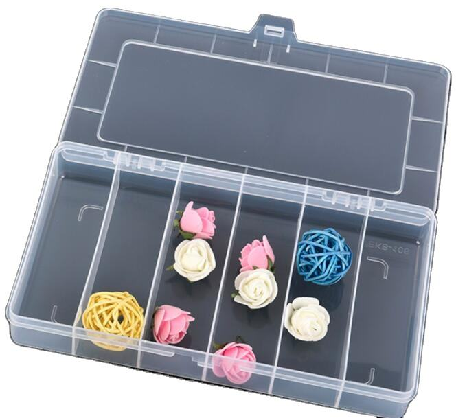 hot sales fashion plastic 6 compartment pill box