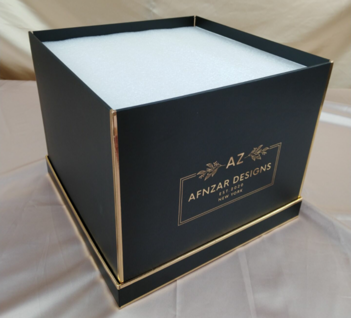 Luxury decorative bouquet packaging preserved rose box