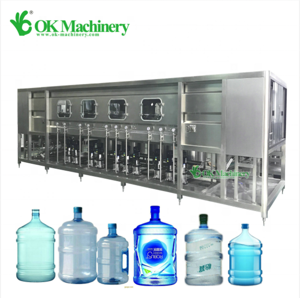 BKCC03 3 5 gallon water filling equipment/bottle 20 liters bucket filling machine line price