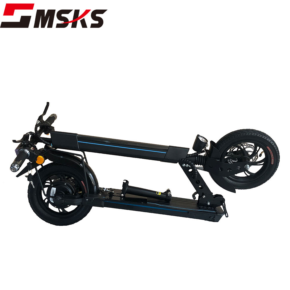 Max belasting 120kg scooter 12inch 350w front laat licht offroad elektrische opvouwbare scooter