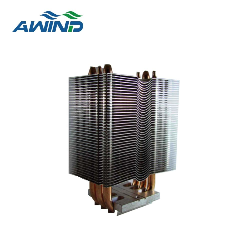 Customized Soldering Heatsink With Fan Cooler Radiator