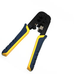 High quality cheap Professional tools RJ45 Network modular connector crimping tool