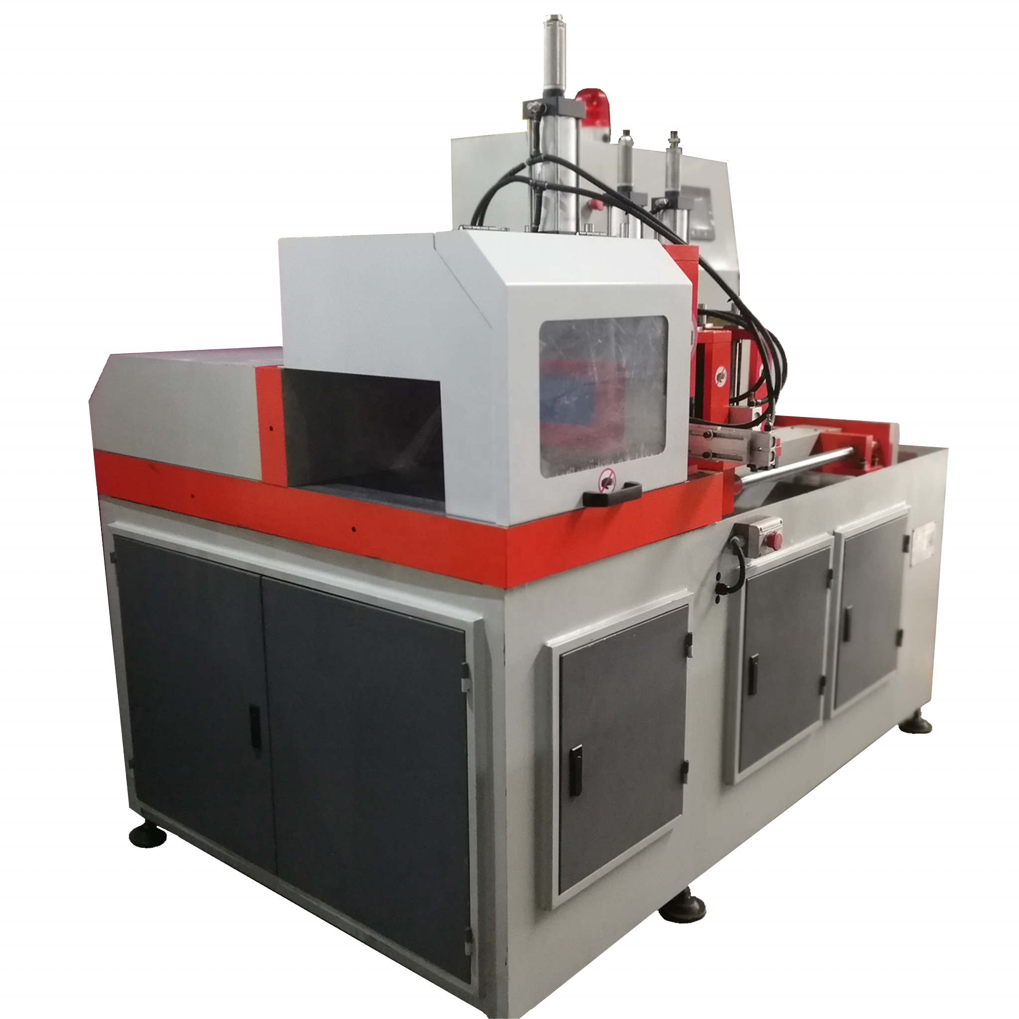 JR-505 CNC Fully Automatic Pipe Cutting Machine Profile Cutter