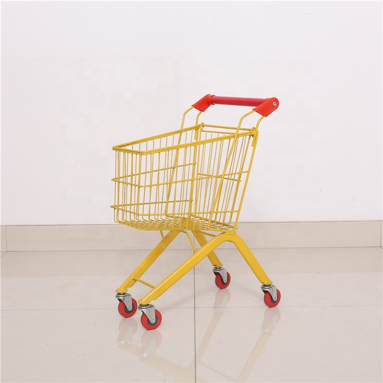 Shunhong customized manufacturer colorful small shopping cart trolley for children