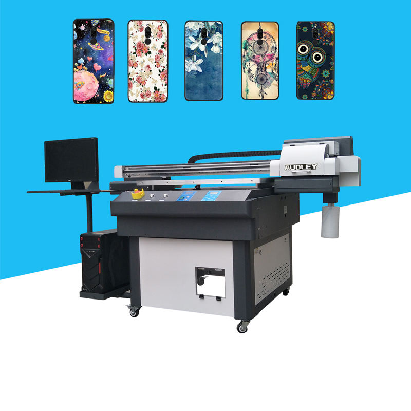 Hot Sell flatbed printing machine uv inkjet printers for precise printing on Metal