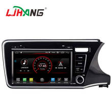 LJHANG ANDROID 10 For HONDA CITY 2014 RHD 2G RAM 16G Flash GPS car dvd player Multimedia System Car Stereo DVD Player