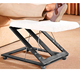 Tri Relax Footrest/Z Shaped wooden folding footstool