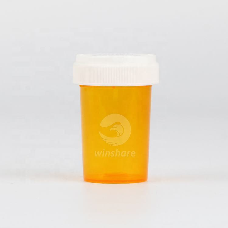 60 Dram Child Proof Container Bottles for Medicine Plastic Prescription Vials With Child Resistant Caps