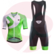 OEM Service Custom Wear Cycling Uniforms Pakistan Manufacturers Jersey And Bib Shorts Padded Hot Sale Cycling Bib Uniform