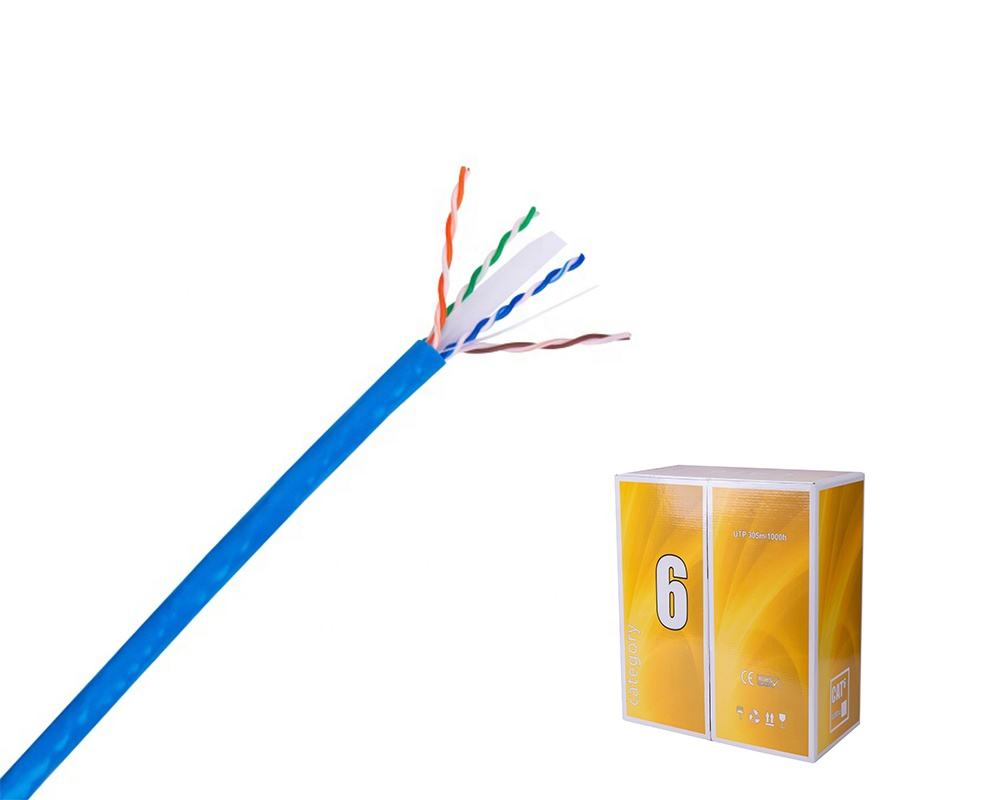 Pull box 305m per roll Customization Outdoor Full Copper 4 pair utp cable cat6