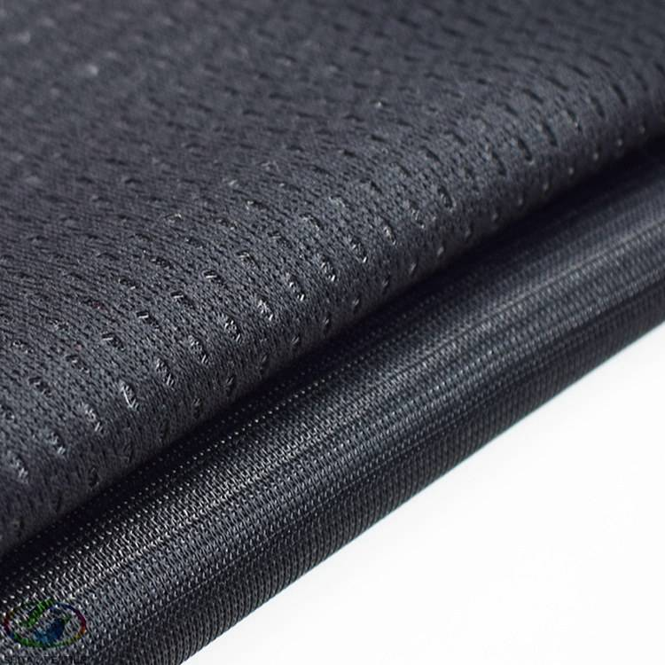 Hot selling bonding technic polyester textured filament yarn fabric