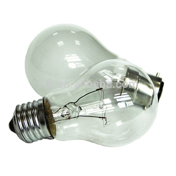 Suntown Factory Clear and Frosted A55 A60 E27 75W 100W Incandescent Bulb