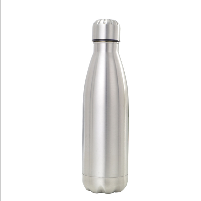 12OZ 17OZ 26OZ Stainless Steel Coke Bottle Double-layer Insulation Sport Water Bottle Bowling Cup Cycling Hydrating Cup