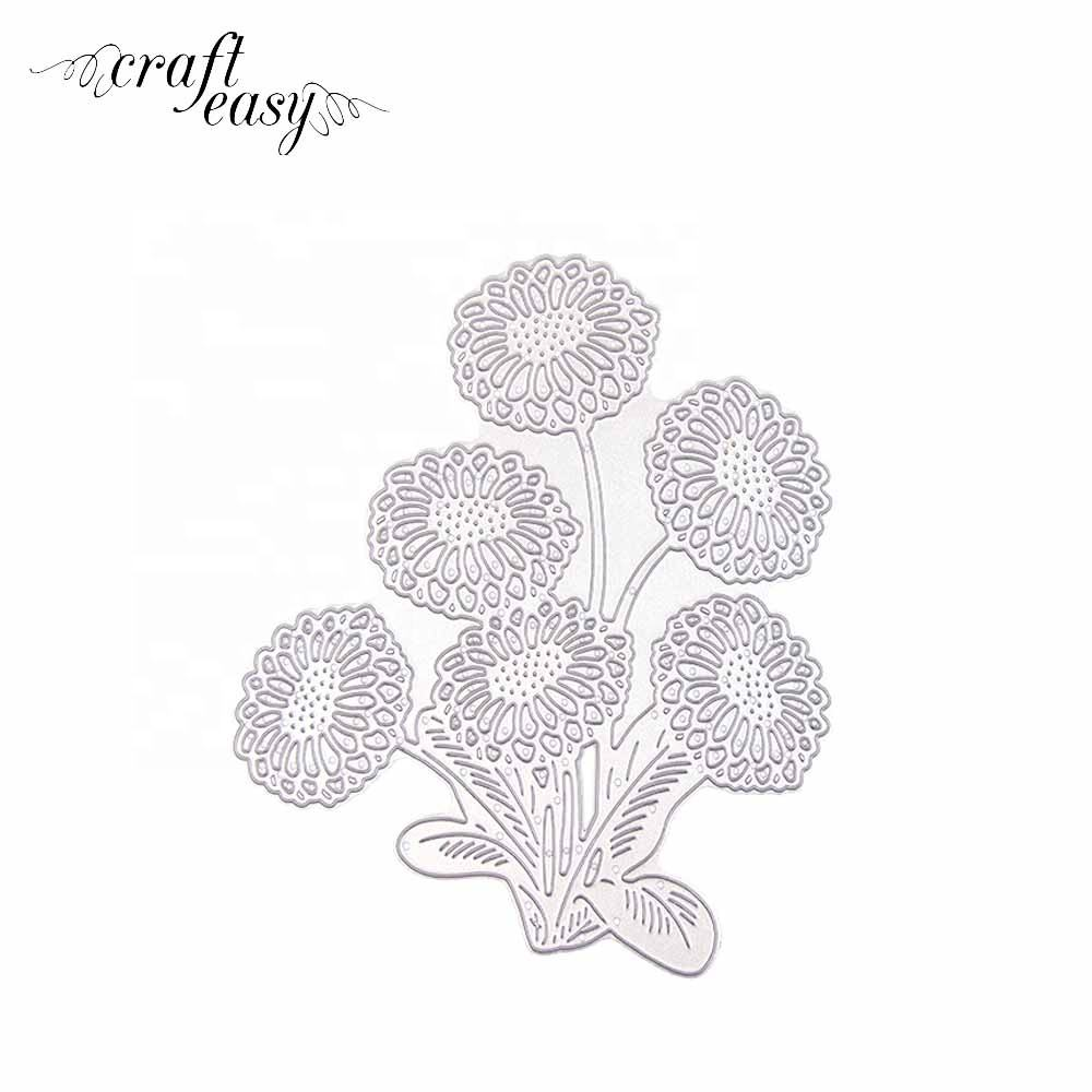 Daisy Custom Sheet Metal Stamping Cutting Dies for Card making