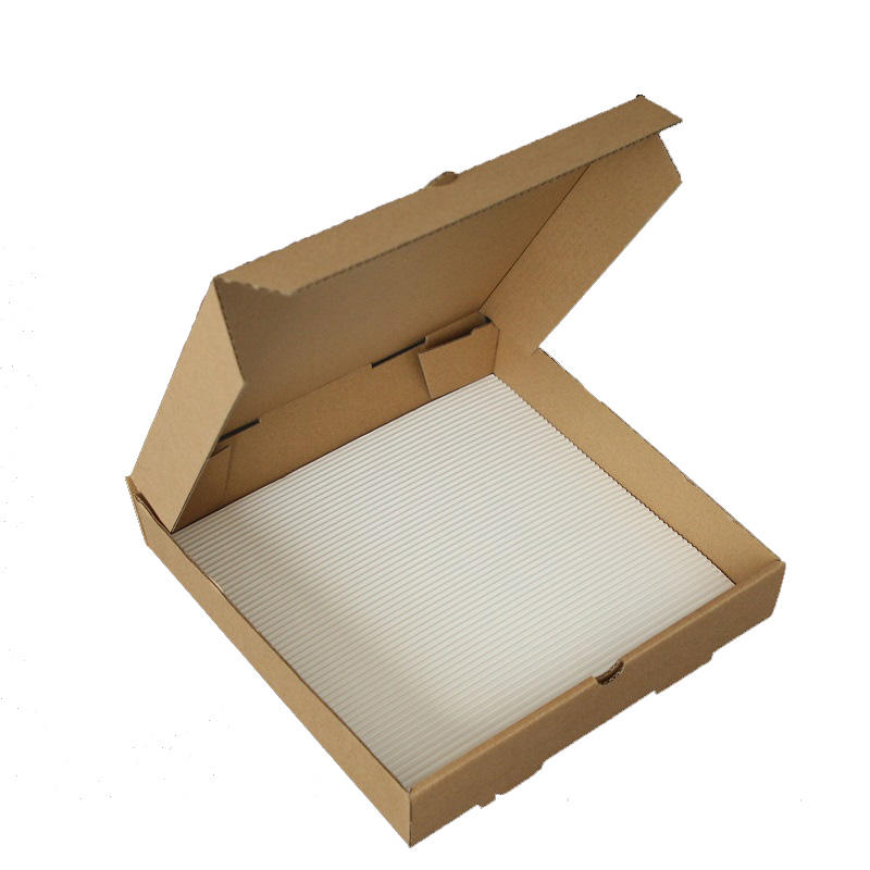 Customize 10 inch Pizza box white kraft paper liners