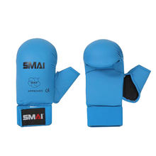 WKF Approved Karate Sparring Gloves Red and Blue All Sizes SMAI Martial Arts Boxing Glove