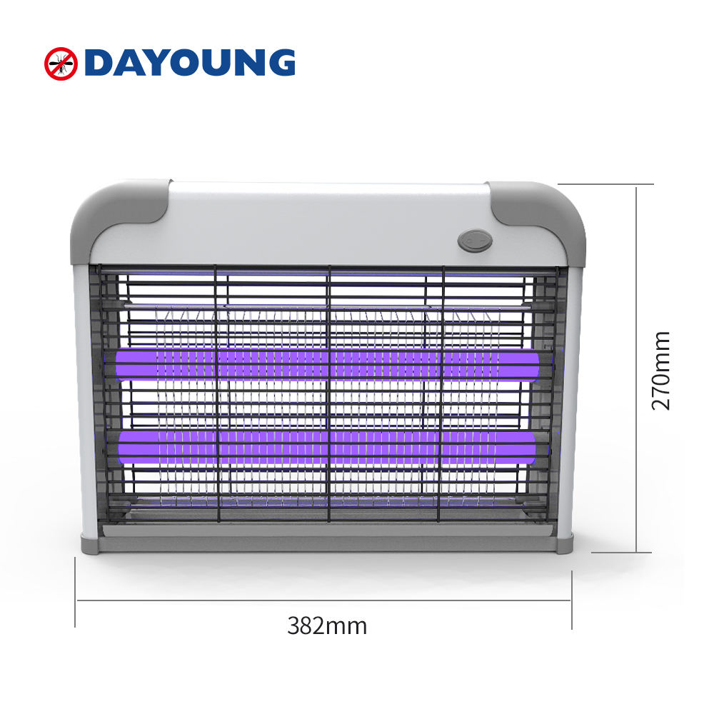 High Voltage 20W 30W 40W Pest Control Insect Traps Bug Zapper Electric MosquitoとFly Killer Lamp