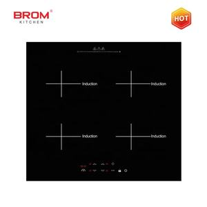 electrical four plate commercial hob touch control built in home shabu shabu hot pot electric cooktop 4 burner induction cooker