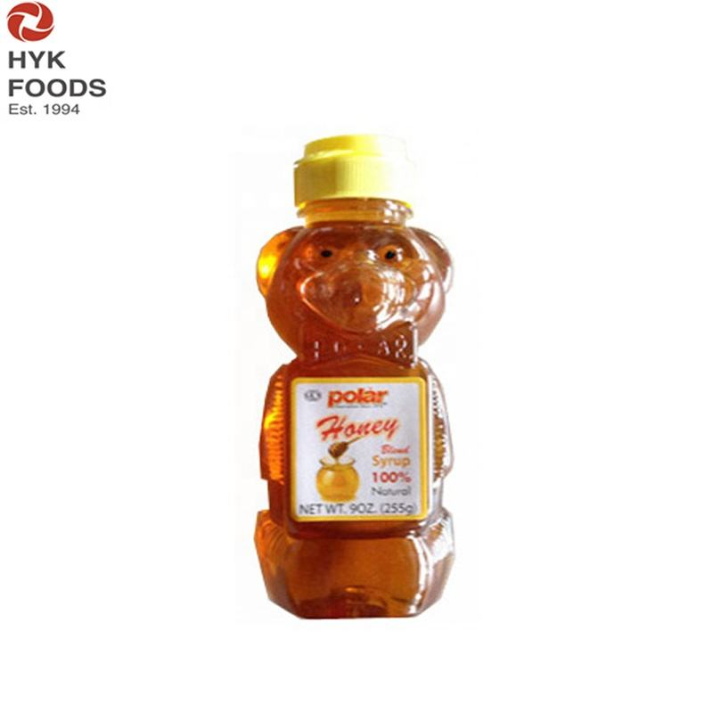 bear bottle Honey blend Syrup with 45% honey