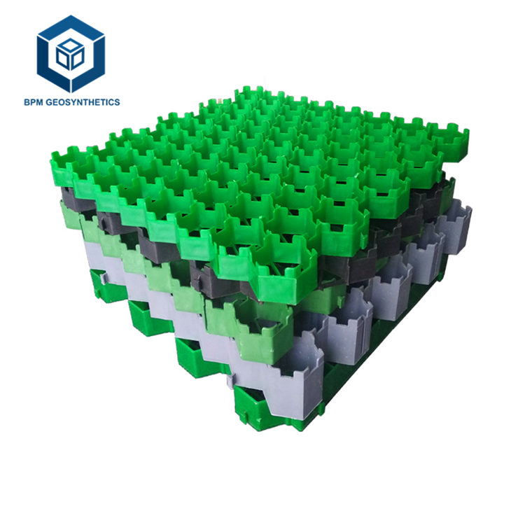 High Quality HDPE Plastic Grass Grid Pavers for Parking Garden in Singapore