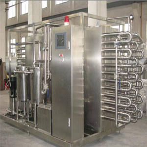 Dairy UHT Sterilization Machine Coil Pipe Plate and Tubular