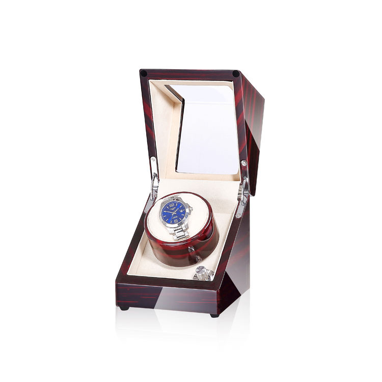 Time partner Single watch winder boxes watch cases winder suitable as a gift for a friend or business partner