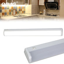 10w 15w 20w 2ft 3ft 4ft Ip44 Showcase Linear Light Fixture Kitchen Under Cabinet Surface Mounted Mini Closet Shelf Led Lighting