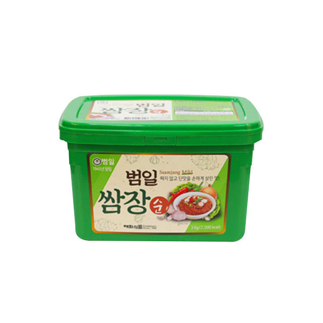 [Made in Korea] GMO FREE Ssamjang BBQ Barbecue Dipping Soybean paste Cuisine Condiment Sauce