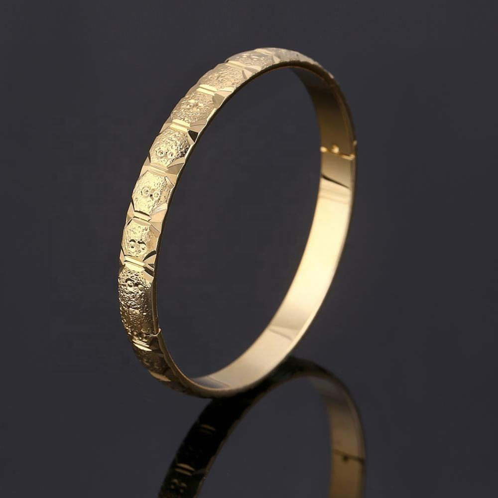 Ethiopische Bangle Gold Kleur Dubai Bridal Wedding Armband Afrika Bangle Moeder Festival Sieraden Gift