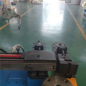 DW50NC manual metal hydraulic copper tube pipe bending machine
