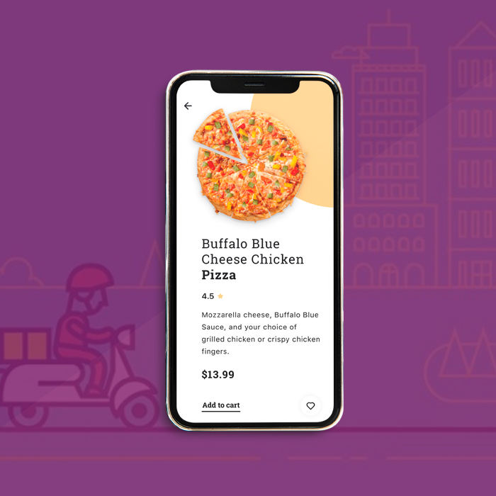Pizza Delivery Mobile Application Development Company | Award Winning Pizza App Development Solutions | Hire Pizza App Developer