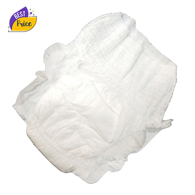 Wholesale Cheap Price Fluff Pulp Disposable High Absorption Adult Diaper, Incontinence Underwear Diaper