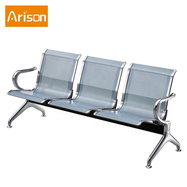 Big Sales 3 seats airport hospital bench waiting chair