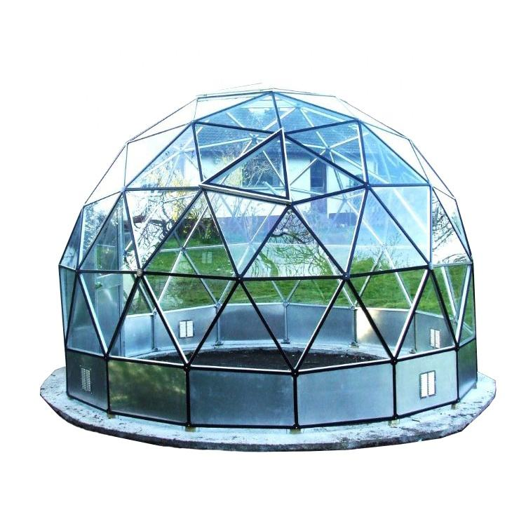 dome house glass sunrooms aluminum glass house small for living