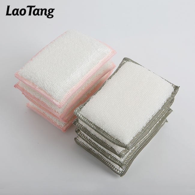 Eco-friendly Kitchen Sponge Customizable Packaging Bamboo Kitchen Sponge Japanese Cleaning Sponge