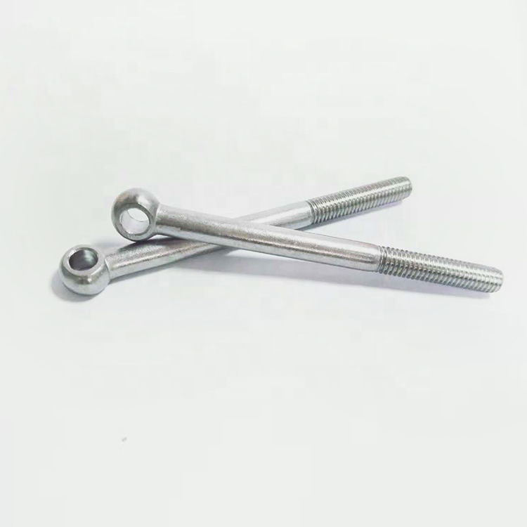 DIN444 stainless steel concrete eye bolts anchors/eye bolt and nut clamp
